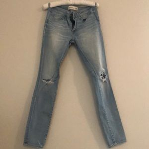 "Abercrombie & Fitch ""Super Skinny"" Jeans"